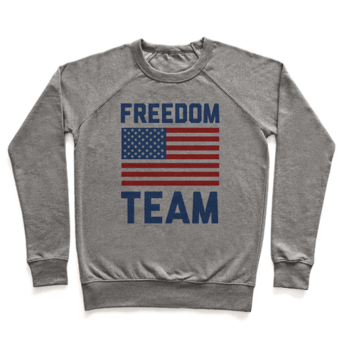 Freedom Team (cmyk) Pullover