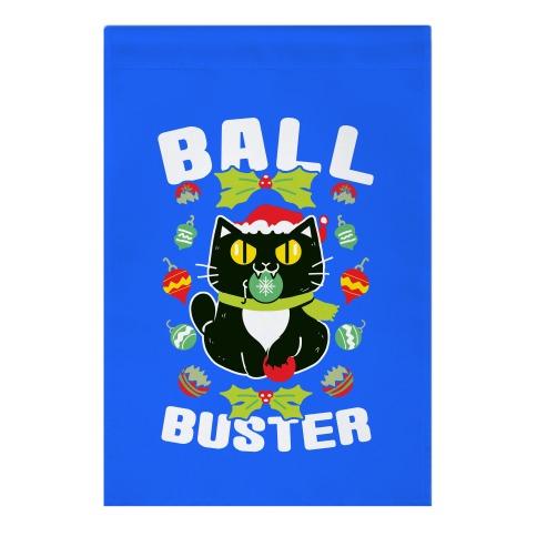 Ball Buster Garden Flag