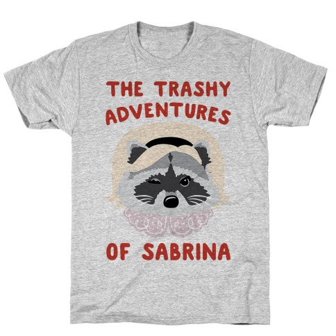 The Trashy Adventures of Sabrina Parody T-Shirt