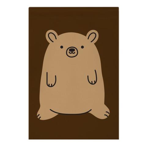 Fat Bear Garden Flag