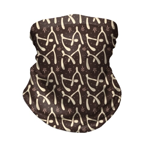 Wish bone Pattern Neck Gaiter