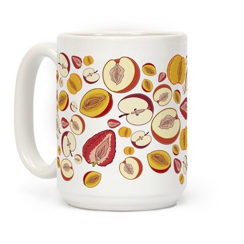 Fruity Vaginas Pattern Coffee Mug