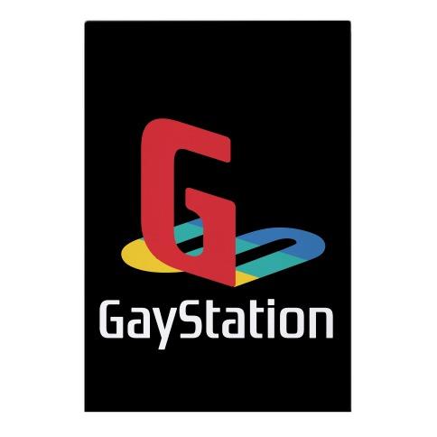 Gay Station  Garden Flag