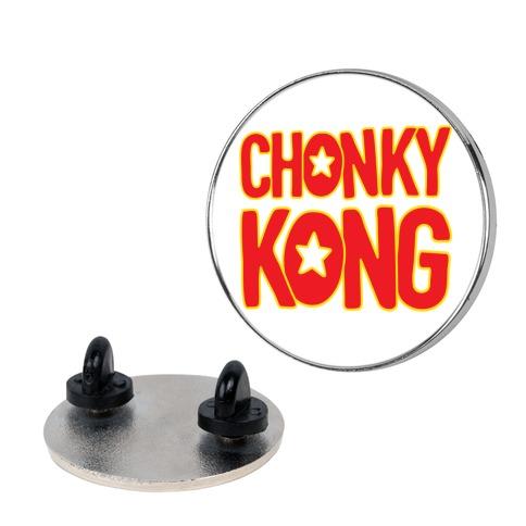 Chonky Kong Parody pin