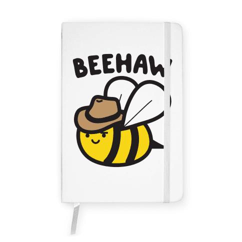 Beehaw Cowboy Bee Notebook