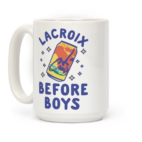 LaCroix Before Boys Coffee Mug