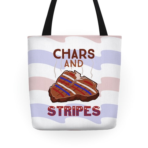 Chars And Stripes Tote