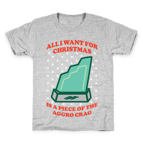 Aggro Crag Christmas Kids T-Shirt