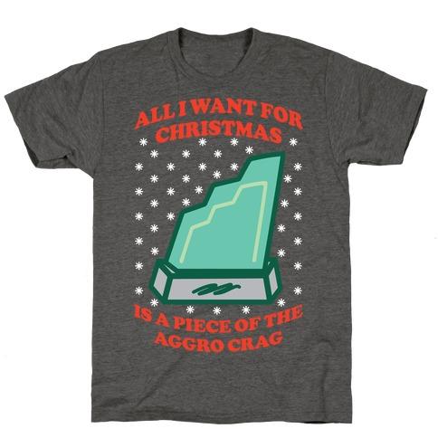 Aggro Crag Christmas T-Shirt