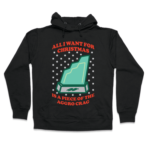 Aggro Crag Christmas Hooded Sweatshirt