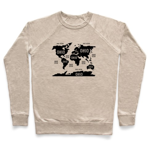 The Ohio World Map Pullover