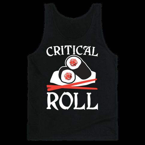 Critical Roll Sushi DnD Tank Top