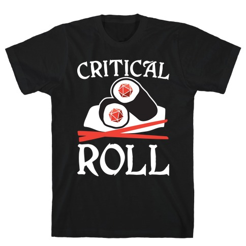Critical Roll Sushi DnD T-Shirt