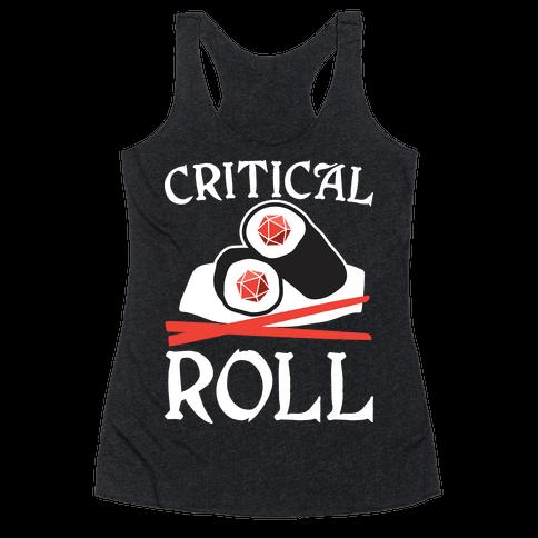 Critical Roll Sushi DnD Racerback Tank Top