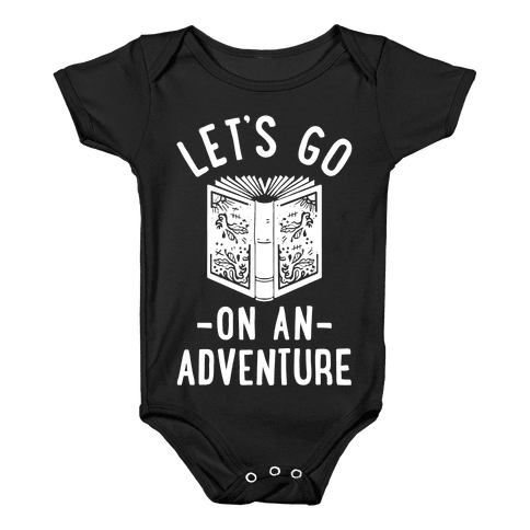Let's Go On An Adventure Baby Onesy