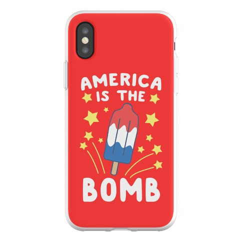 America is the Bomb - Pop Phone Flexi-Case