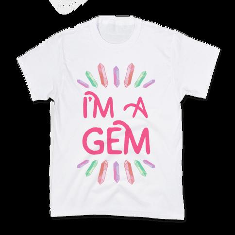 I'm A Gem  Kids T-Shirt