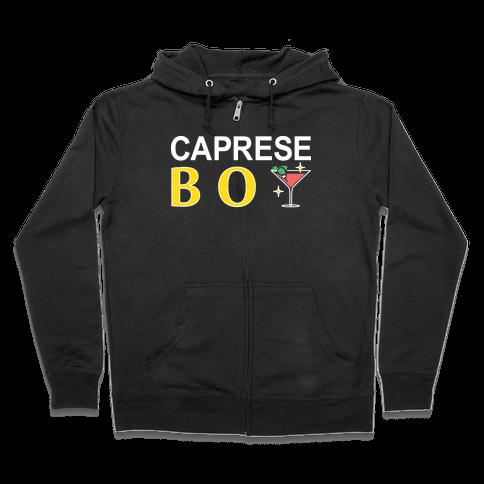 Caprese Boy Zip Hoodie