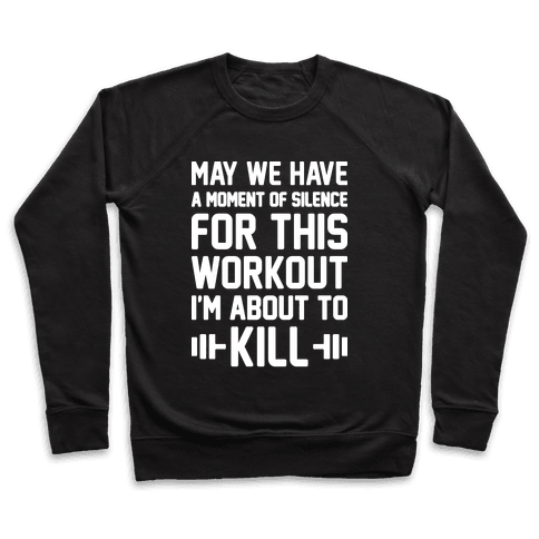 May We Have A Moment Of Silence For This Workout Pullover