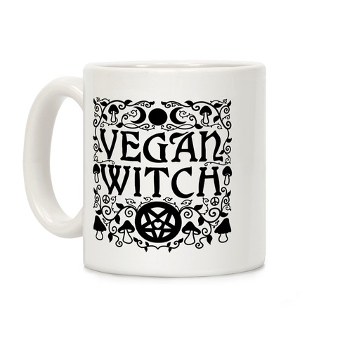 Vegan Witch Coffee Mug