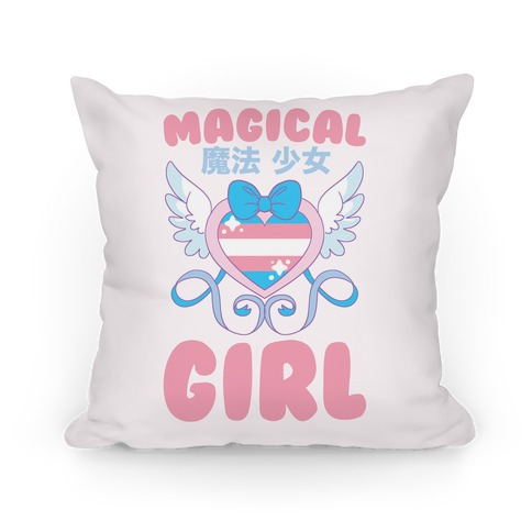 Magical Girl - Trans Pride Pillow