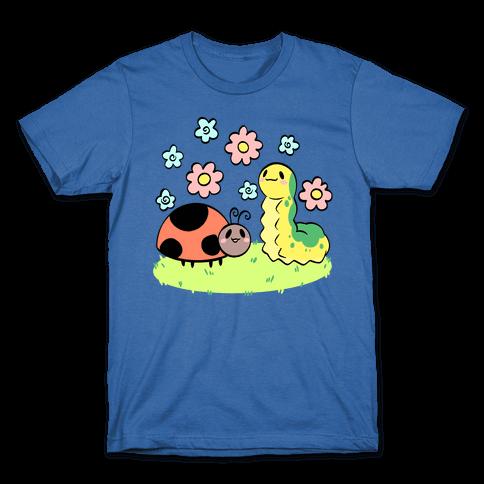 Cute Buggy Friends Mens/Unisex T-Shirt