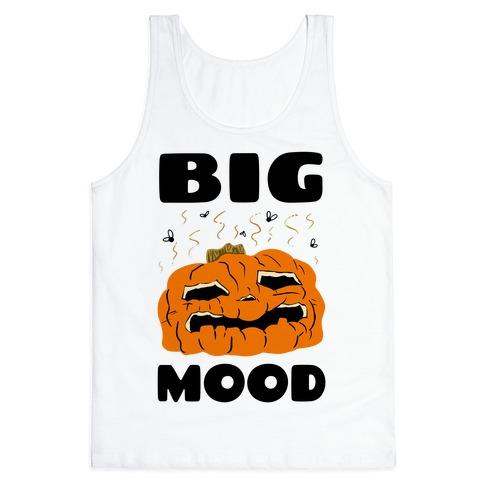 Big Mood Rotting Pumpkin Tank Top