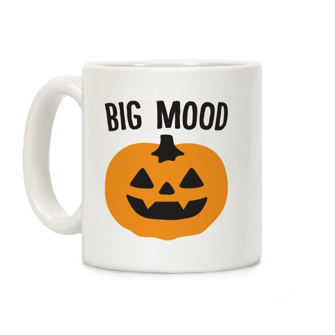 Big Mood Jack-o-lantern Coffee Mug