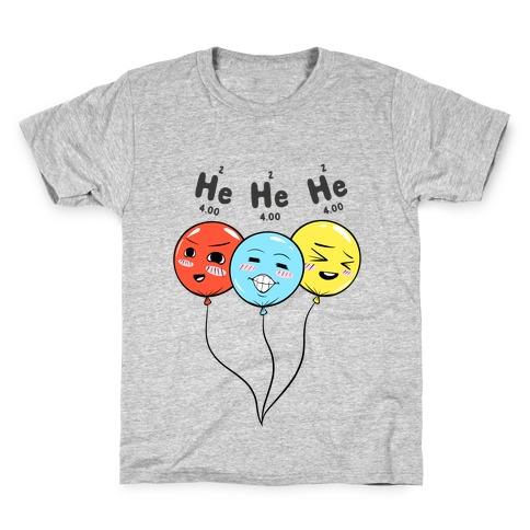 He He He Kids T-Shirt
