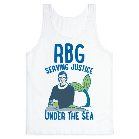 RBG Serving Justice Under The Sea Tank Top