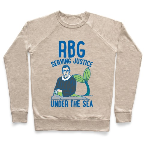 RBG Serving Justice Under The Sea Pullover