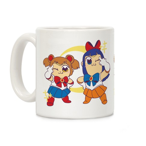 Pretty Sailor Pop Team Epic Coffee Mug