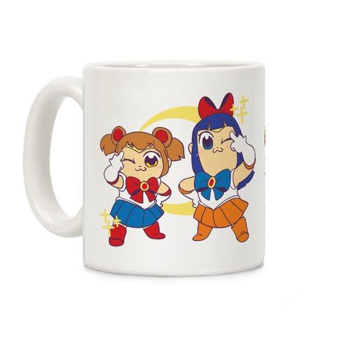 Pretty Sailor Pop Team Epic Coffee Mug