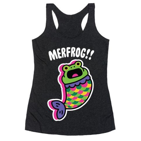 MerFrog!! Racerback Tank Top