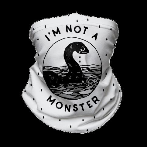 I'm Not a Monster (Nessy) Neck Gaiter
