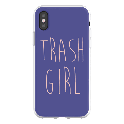 Trash Girl Phone Flexi-Case