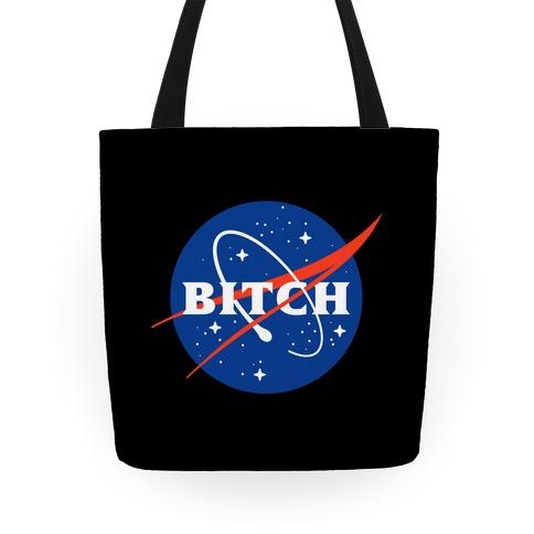 Bitch Space Program Logo Tote