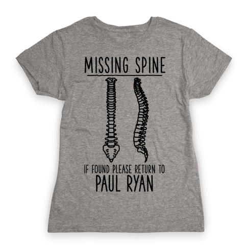 Missing Spine Womens T-Shirt