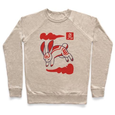 Rabbit - Chinese Zodiac Pullover