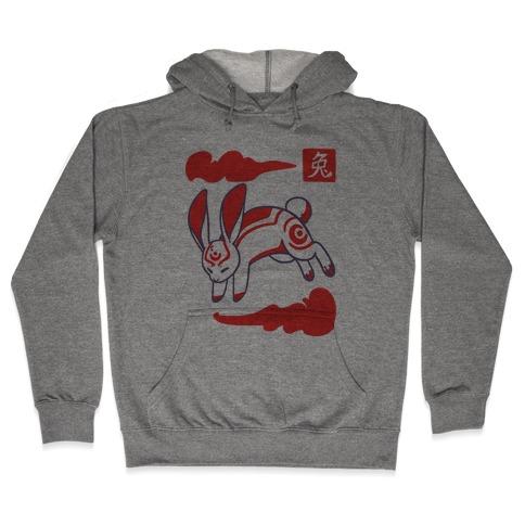 Rabbit - Chinese Zodiac Hooded Sweatshirt