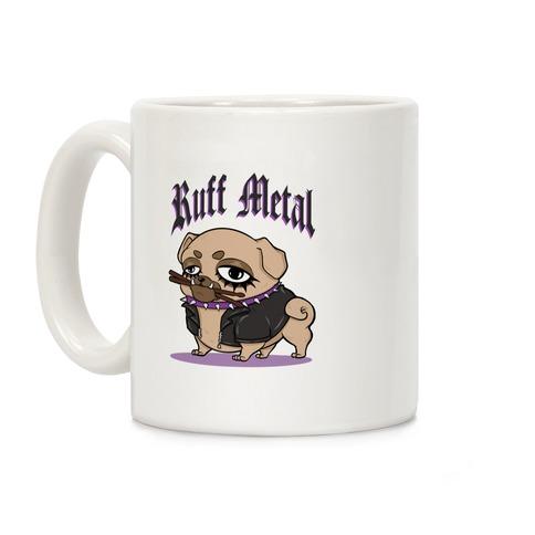Ruff Metal Coffee Mug