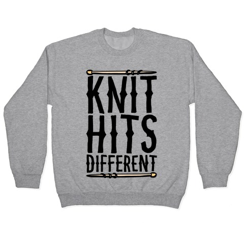 Knit Hits Different Pullover