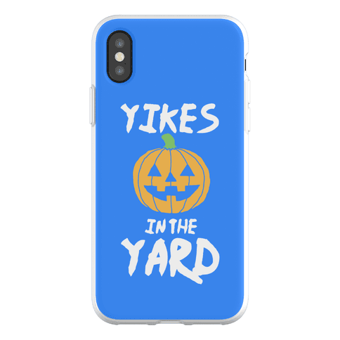 Yikes in the Yard Phone Flexi-Case