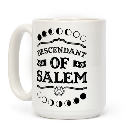 Descendant of Salem Coffee Mug