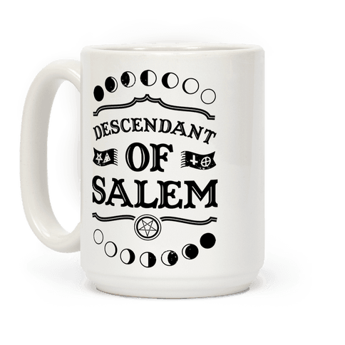 Descendant of Salem Coffee Mug