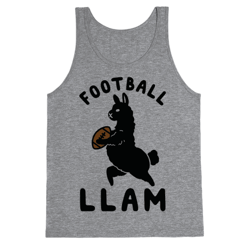 Football Llam Tank Top