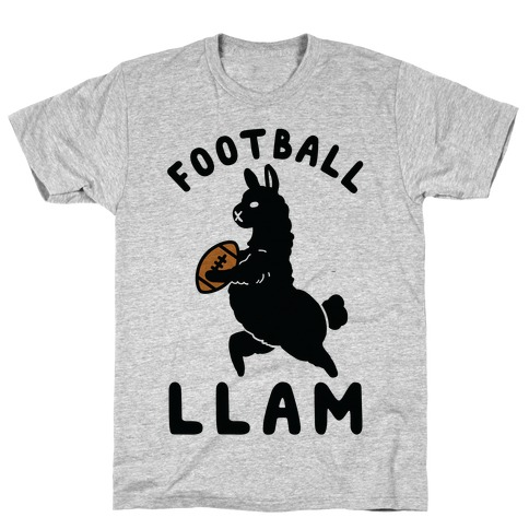 Football Llam T-Shirt