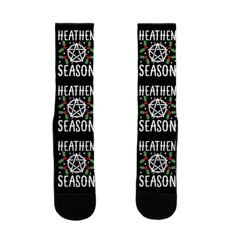 Heathen Season Christmas Sock
