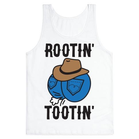 Rootin' Tootin' Cowboy Butt Tank Top