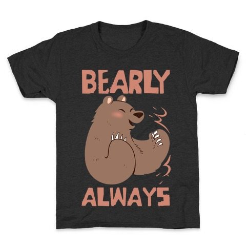 Bearly Apart, Always Together (Left) Kids T-Shirt